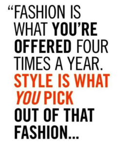 Fashion Offered 4 Times